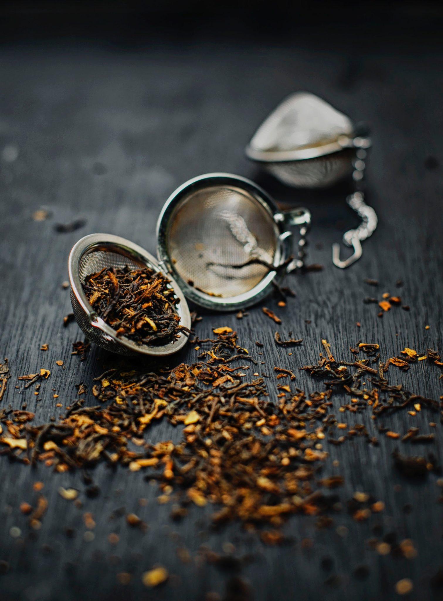 Thé - Feuilles de thé